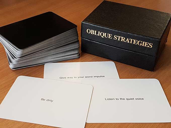 brian eno oblique strategies
