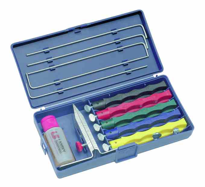 Lansky Deluxe 5 Stone Sharpening System Cool Tools