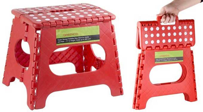 Foldable Step Stool Cool Tools