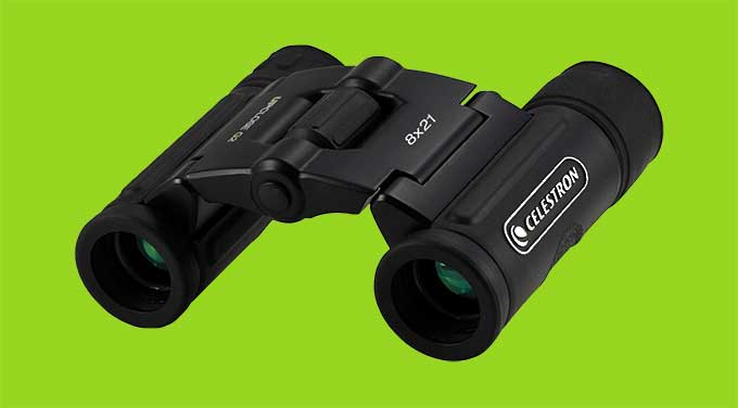 Celestron Mini 8×21 Binoculars | Cool Tools