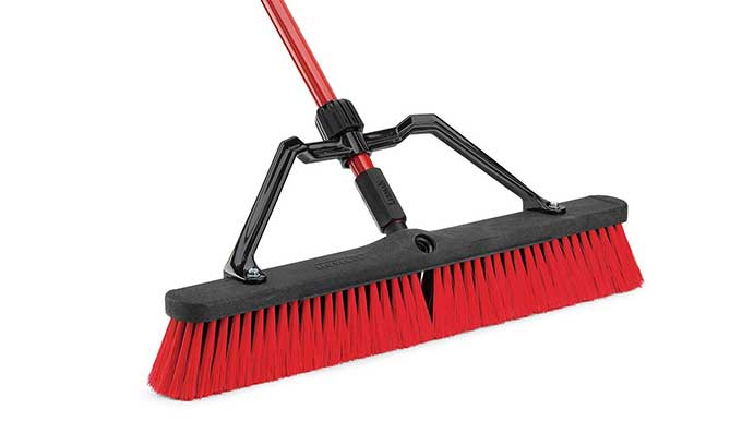 Libman 24 Multi Surface Heavy Duty Push Broom Cool Tools