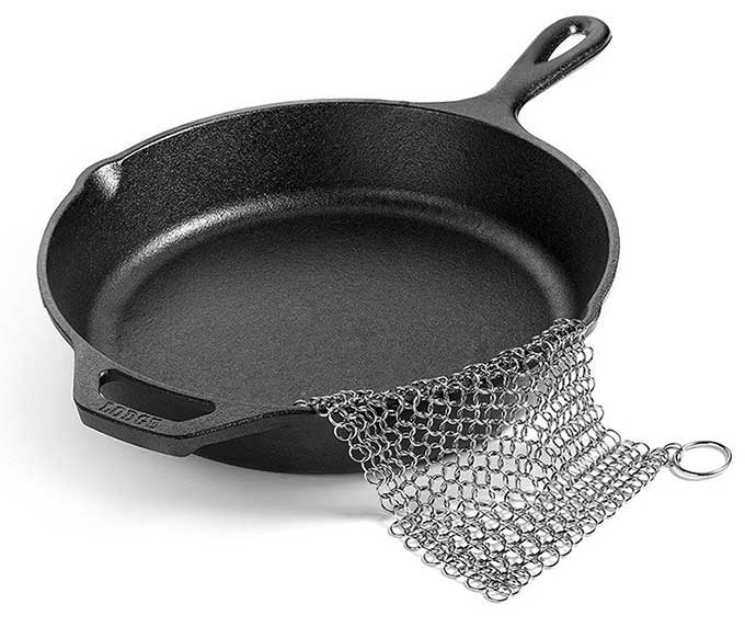 Chain Mail Dish Scrubber Cool Tools