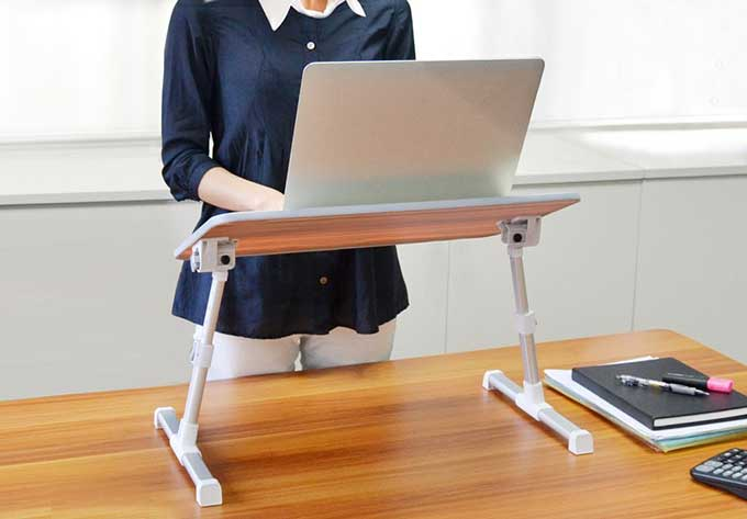 Portable Standing Desk | Cool Tools