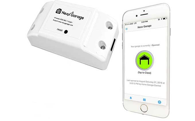 Nexx Wifi Garage Door Opener Cool Tools