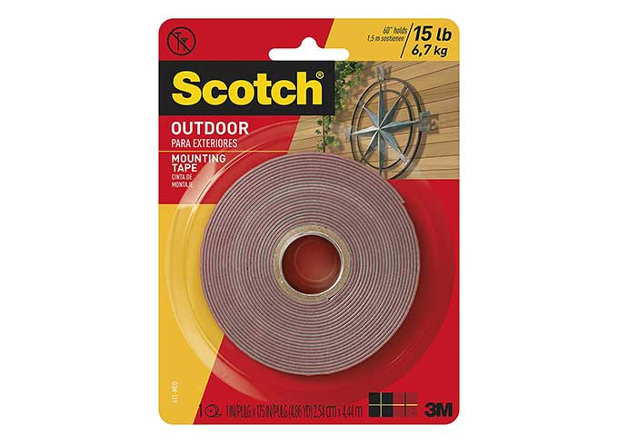 Scotch Outdoor Mounting Tape Cool Tools