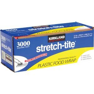 Kirkland Signature Stretch-Tite 12_ X 3000 Food Wrap