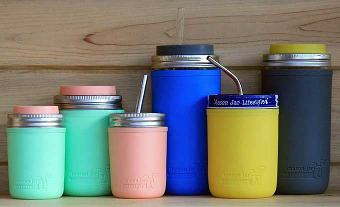 Silicone Sleeves for Mason Jars | Cool Tools