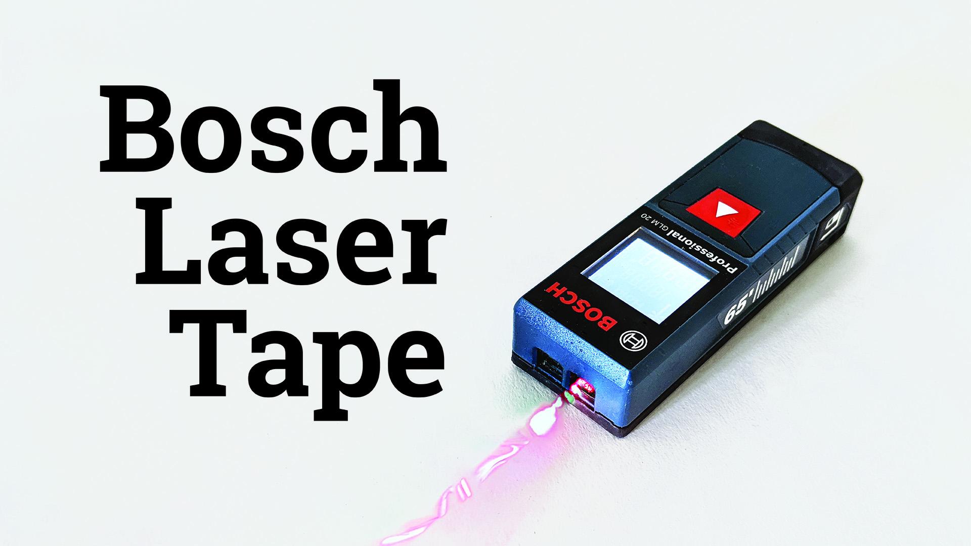 Bosch Laser Tape (Thumb)