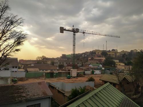 New cricket farm construction in Tana