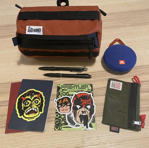 What's in my bag? — David Valadez