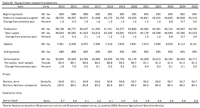 USDA-young-chickens-long-term-projections-2014-2025