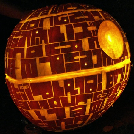 deathstar3 Extreme Pumpkin Carving Patterns