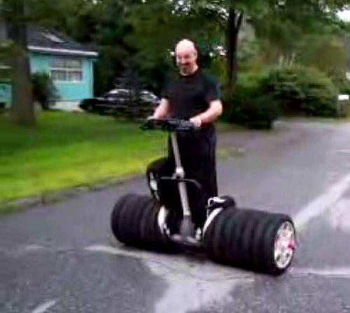 6-Wheel-Segway