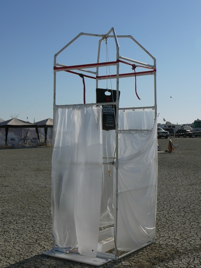 Burningman Shower