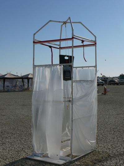 Burningman Shower