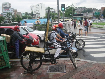 Dong Dae Mun Market Cargocycles 010