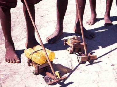Toys From Africa : Street use: african homemade toy trucks
