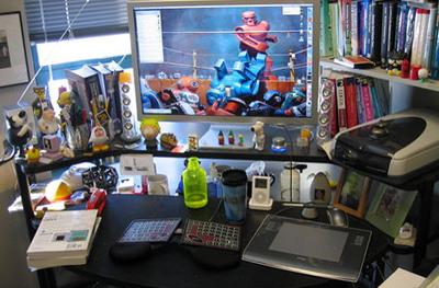 Deskclutter