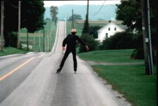 Klein Amish Skater Scharf
