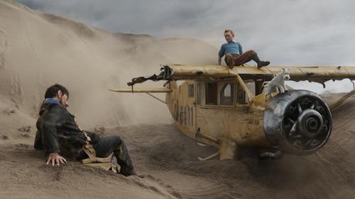 The adventures of tintin movie